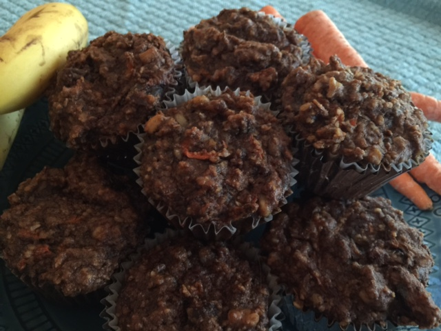 Super Yummy Carrot-Banana Muffin Recipe - Health Coach Angela Watson Robertson