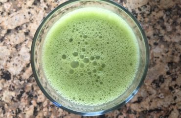 Frozen Banana & Pumpkin Green Smoothie Recipe - Health Coach Angela Watson Robertson