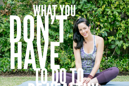 What You Don't Have To Do To Be Healthy - Health Coach Angela Watson Robertson