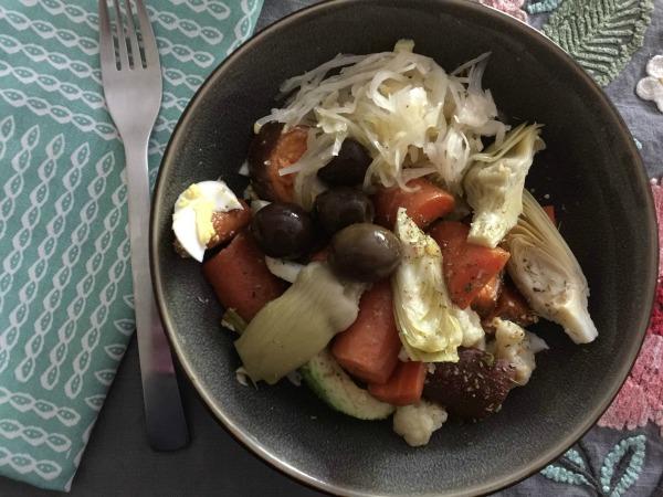 Veggie Bowl Recipe - Health Coach Angela Watson Robertson