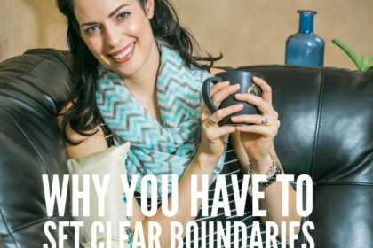 Why You Have To Set Clear Boundaries - Health Coach Angela Watson Robertson